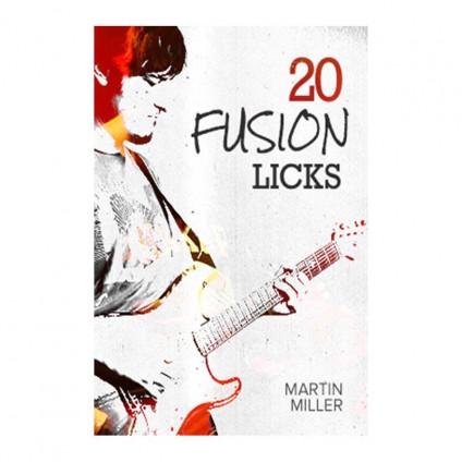قیمت خرید فروش ویدیو آموزشی Martin Miller 20 Fusion Licks