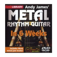 Andy James Metal Rhythm Guitar In 6 Weeks