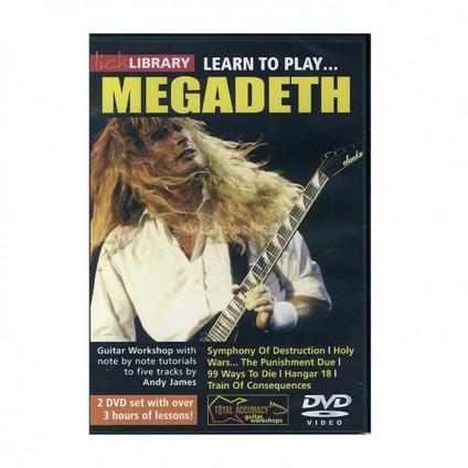 قیمت خرید فروش ویدیو آموزشی Learn To Play Megadeth