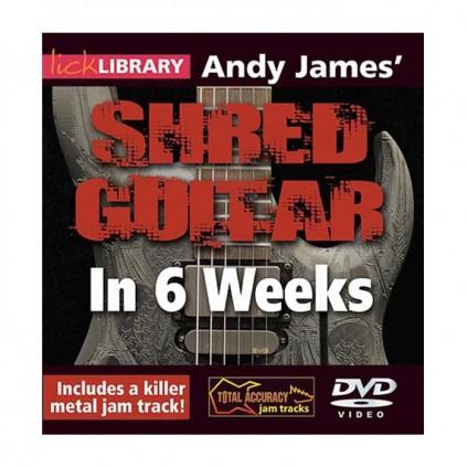 قیمت خرید فروش ویدیو آموزشی Shred Guitar In 6 Weeks By Andy James