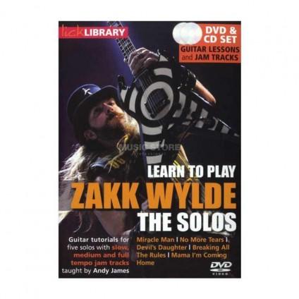 قیمت خرید فروش ویدیو آموزشی Zakk Wylde The Solos