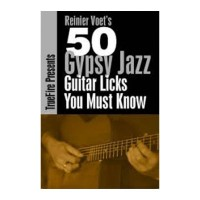 قیمت خرید فروش Reinier Voets 50 Gypsy Jazz Licks You Must Know