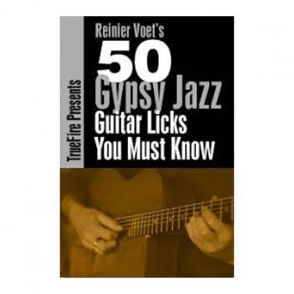 قیمت خرید فروش ویدیو آموزشی Reinier Voets 50 Gypsy Jazz Licks You Must Know
