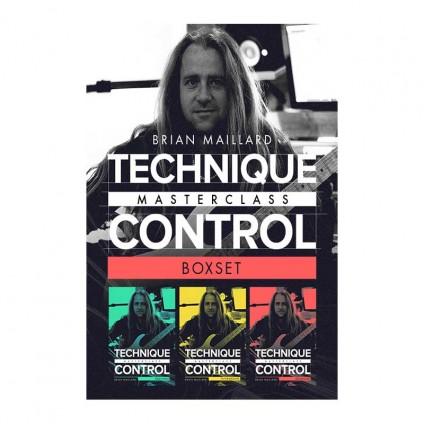 قیمت خرید فروش ویدیو آموزشی Brian Maillard Technique Control Masterclass Box Set