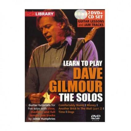 قیمت خرید فروش ویدیو آموزشی Dave Gilmour solos