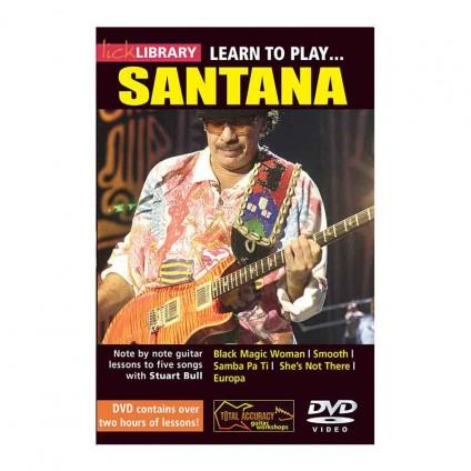قیمت خرید فروش ویدیو آموزشی Learn To Play Santana