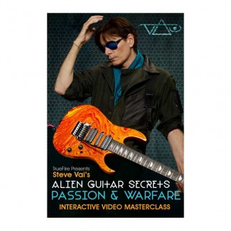 قیمت خرید فروش ویدیو آموزشی Steve Vais Alien Guitar Secrets Passion and Warfare