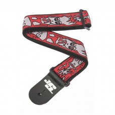 بند گیتار Planet Waves Joe Satriani Guitar Strap, Up in Flames