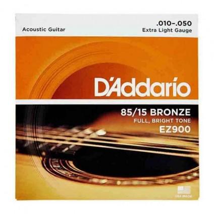 قیمت خرید فروش سیم گیتار آکوستیک 10-50 Daddario EZ900 Bronze