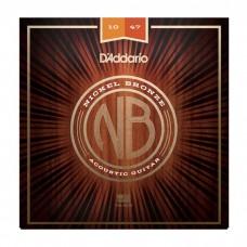 سیم گیتار آکوستیک Daddario NB1047