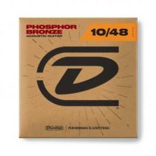 سیم گیتار آکوستیک Dunlop Phosphor Bronze 10-48