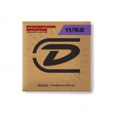 سیم گیتار آکوستیک Dunlop Phosphor Bronze 11-52