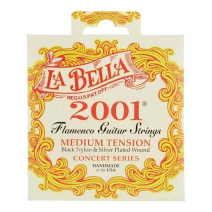قیمت خرید فروش سیم گیتار فلامنکو La Bella 2001 Flamenco Medium Tension