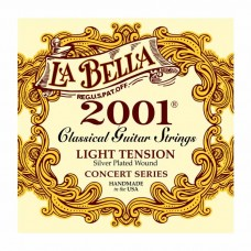 سیم گیتار کلاسیک Labella 2001 Light Tension