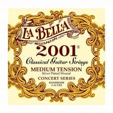 سیم گیتار کلاسیک Labella 2001 Medium Tension