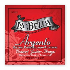 سیم گیتار کلاسیک Labella SMH Argento Extra Fine Silver Plating Medium-Hard