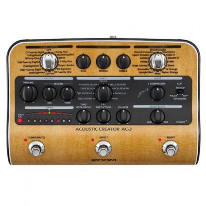 قیمت خرید فروش افکت گیتار آکوستیک Zoom AC3