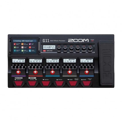 قیمت خرید فروش افکت گیتار الکتریک ZOOM G11