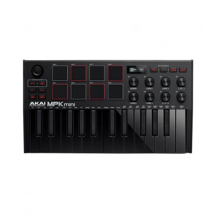 قیمت خرید فروش میدی کنترلر AKAI MPK mini MK3 Black
