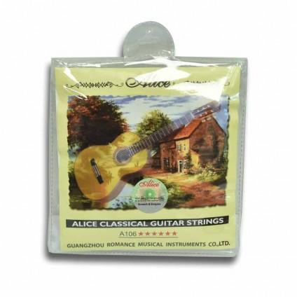 قیمت خرید فروش سیم گیتار کلاسیک Normal Tension Alice Classical Guitar Strings A106