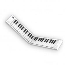 Carry on Folding Piano 49 key white