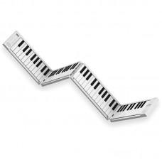 Carry on Folding Piano 88 key white