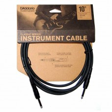 Daddario Classic Series 10ft Cable