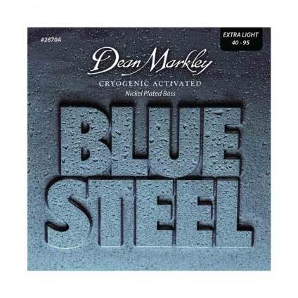 قیمت خرید فروش سیم گیتار باس 4 سیم Dean Markley 2670A Blue Steel NPS 40-95