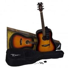 Dean AXS Prodigy Acoustic Pack Tobacco Sunburst