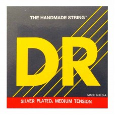 سیم گیتار کلاسیک DR Silver PLated Medium Tension 22-44