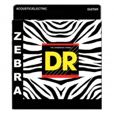 سیم گیتار DR Zebra Acoustic-Electric 11-50