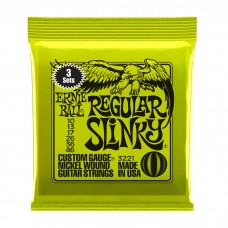 Ernie Ball Regular Slinky 10-46|3sets