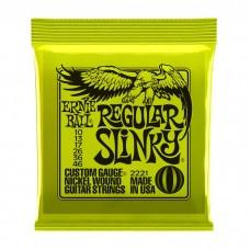 سیم گیتار الکتریک Ernie Ball 2221 Regular Slinky 10-46