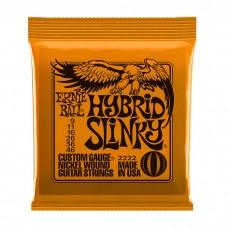 سیم گیتار الکتریک Ernie Ball 2222 Hybrid Slinky 09-46