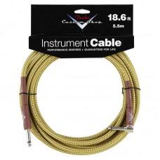 Fender Custom Shop Cable Tweed Angled 5.5m