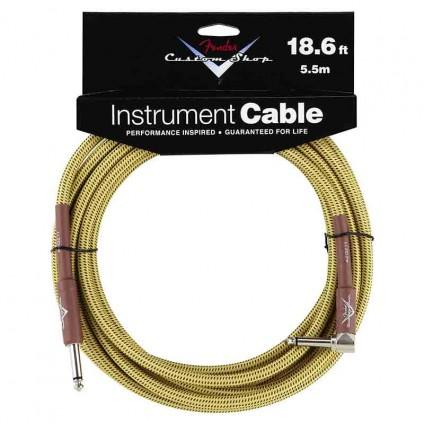 قیمت خرید فروش کابل گیتار TS to TS Fender Custom Shop Cable Tweed Angled 5.5m