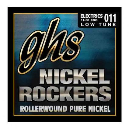 قیمت خرید فروش سیم گیتار الکتریک 11-58 ghs Nickel Rockers 11 58