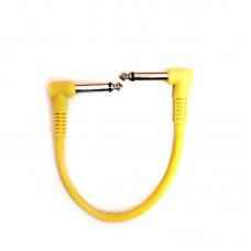 Lespoir Pedalboard Unit Cable Yellow 21cm