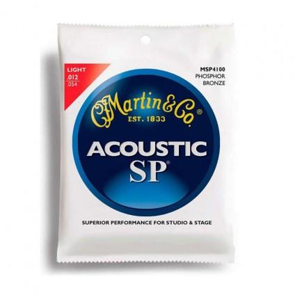 قیمت خرید فروش سیم گیتار آکوستیک Martin MSP4100 12-54