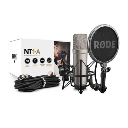 قیمت خرید فروش میکروفون کاندنسر Rode NT1-A Package
