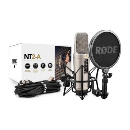 قیمت خرید فروش میکروفون کاندنسر Rode NT2 A Package