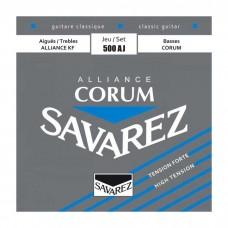 سیم گیتار کلاسیک Savarez 500AJ