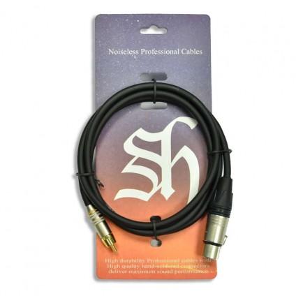 قیمت خرید فروش کابل اسپیکر مانیتور Shining Sound Pro Plus RCA To XLR 1.5m