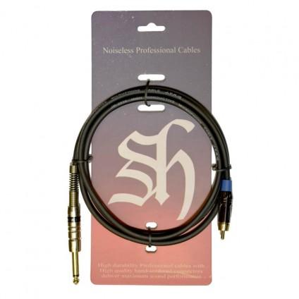 قیمت خرید فروش کابل اسپیکر مانیتور TS to RCA Shining Sound TS to RCA 1.5m