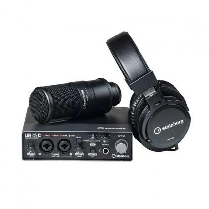 قیمت خرید فروش پکیج استودیویی Steinberg UR22C Recording Pack