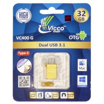 قیمت خرید فروش فلش مموری viccoman vc400g 32GB