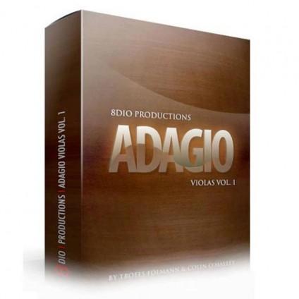 قیمت خرید فروش وی اس تی پلاگین 8Dio Adagio Violas vol.1