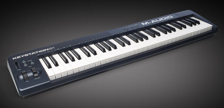M-audio-Keystation 61 II