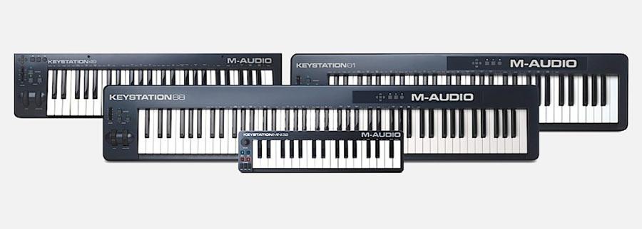 M-audio-Keystation 61 II